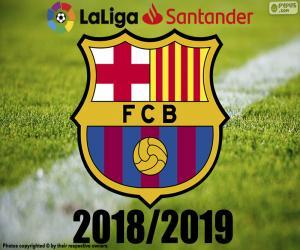 Puzle Barça, campeão 2018-2019