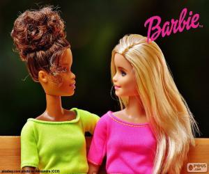 Puzle Barbie com a amiga
