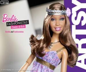 Puzle Barbie Fashionista Artsy