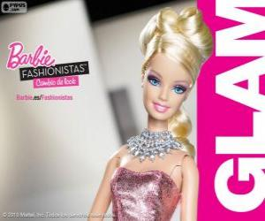 Puzle Barbie Fashionista Glam