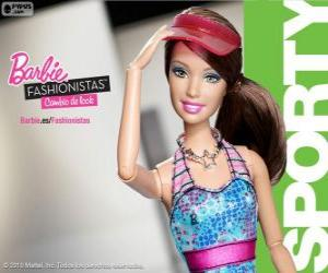 Puzle Barbie Fashionista Sporty