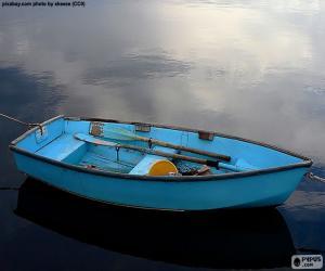 Puzle Barco azul
