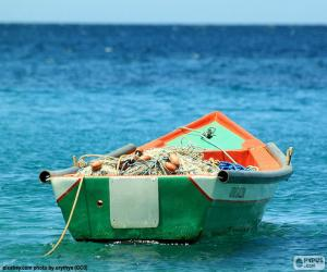 Puzle Barco de pesca