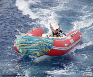 Puzle Barco inflável