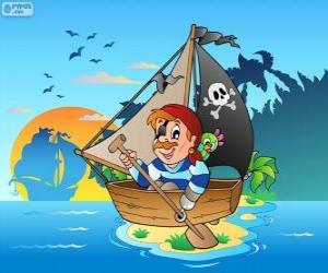 Puzle Barco pirata