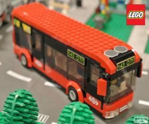 Puzle Barra-ônibus urbana de Lego