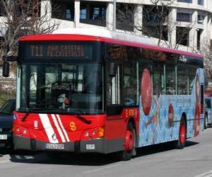 Puzle Barra-ônibus urbana