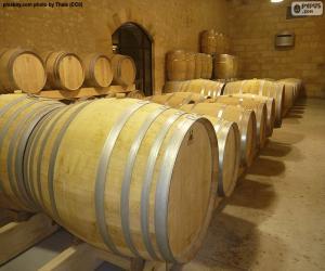 Puzle Barris de vinho