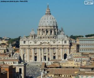 Puzle Basílica de São Pedro, Vaticano