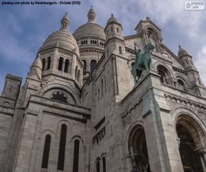Puzle Basílica de Sacré-Coeur, Paris