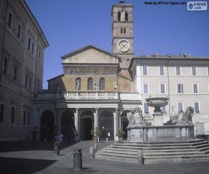 Puzle Basílica de Santa Maria em Trastevere, Roma