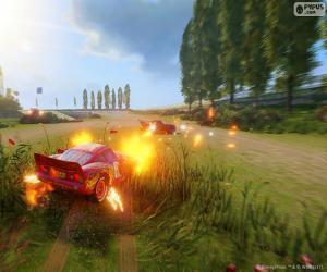 Puzle Batalha, jogo de vídeo de Carros 3
