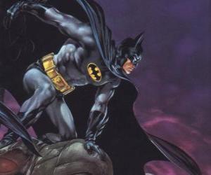 Puzle Batman controlando a cidade de Gotham City