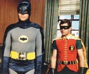 Puzle Batman e Robin