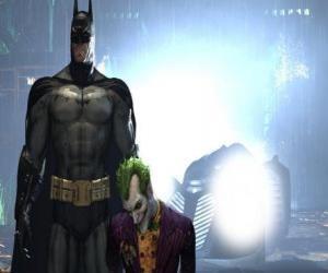 Puzle Batman prendeu seu inimigo o Joker
