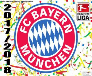 Puzle Bayern, Bundesliga 2017-2018