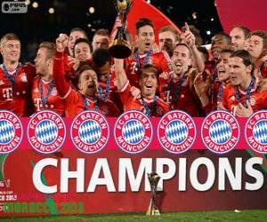 Puzle Bayern de Munique, Campeão da Copa do Mundo de Clubes 2013
