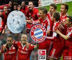 Puzle Bayern de Munique campeão 13-14