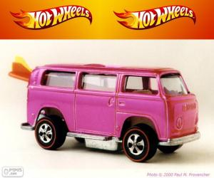 Puzle Beach Bomb, Hot Wheels