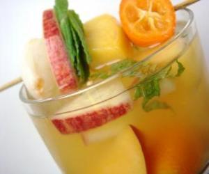 Puzle Bebidas Tropical