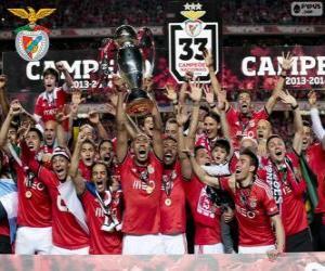 Puzle Benfica, campeão 2013-2014