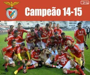 Puzle Benfica, campeão 2014-2015