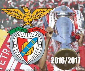Puzle Benfica, campeão 2016-2017