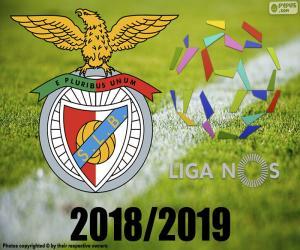 Puzle Benfica, campeão 2018-2019