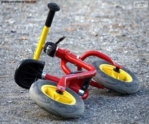 Puzle Bicicleta de criança