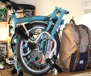 Puzle Bicicleta de dobramento