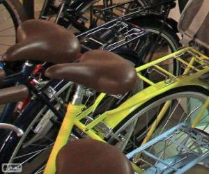 Puzle Bicicletas para a cidade