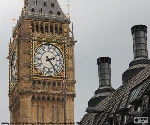 Puzle Big Ben, London