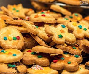Puzle Biscoitos decorados, Natal
