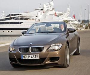 Puzle BMW M6 Cabriolet