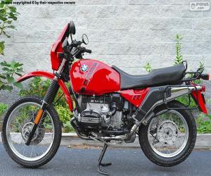 Puzle BMW R100GS