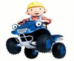 Puzle Bob e Scrambler, o quad ou ATV