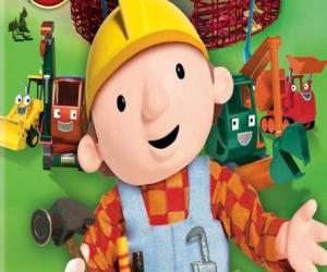 Puzle Bob o Construtor com suas máquinas