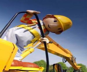 Puzle Bob o Construtor pensativo