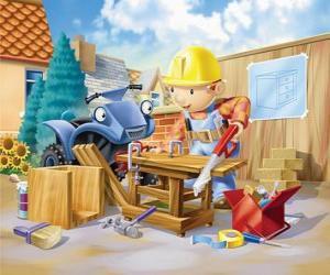 Puzle Bob trabalhou como carpinteiro