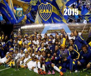 Puzle Boca, Campeão 1ª Divisão 2015