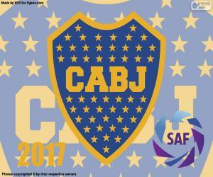 Puzle Boca Juniors, campeão de 2016-2017