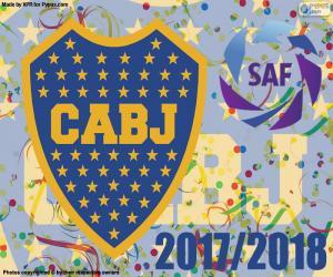 Puzle Boca Juniors, Superliga 2017-2018