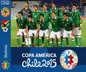 Puzle Bolívia Copa América 2015