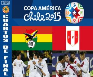 Puzle BOL - PER, Copa América 2015