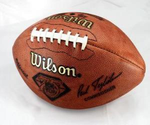 Puzle Bola de futebol americano
