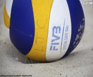 Puzle Bola de vôlei de praia