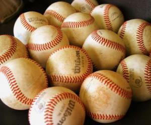 Puzle Bolas de beisebol