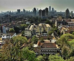 Puzle Bombaim ou Mumbai, Índia