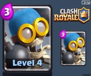 Puzle Bombardeiro de Clash Royale