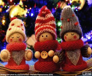 Puzle Bonecas do Natal